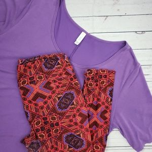 LuLaRue Outfit | Leggings & Perfect Tee